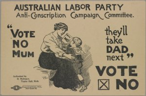 http://suchwaslife.blogs.slv.vic.gov.au/2012/12/19/conscription-referendums/#.UxFVhnk9ZGo
