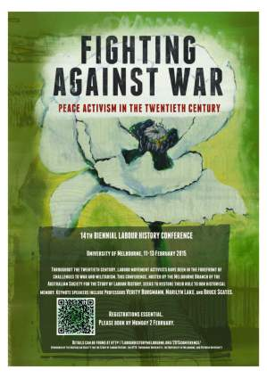 FIGHTING AGAINST WAR POSTER reduced file size