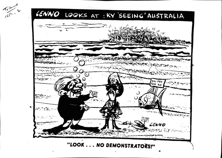 Ky cartoon Recorder