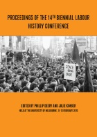 Proceedings of the 14th Labour History Conference FINAL Cover
